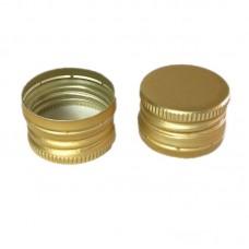 Колпачок 28*18 Золотой с резьбой (алюминий)