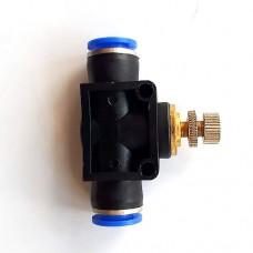 Дроссель (игольчатый кран) прямой РЕ10