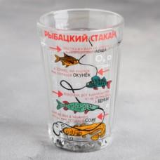 """Стакан граненый """"Рыбацкий стакан"""", 250мл"""