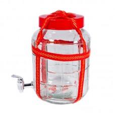Бутыль (банка) Premiere с гидрозатвором 15л + кран
