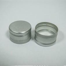 Колпачок 28*18 Серебристый без резьбы (алюминий)